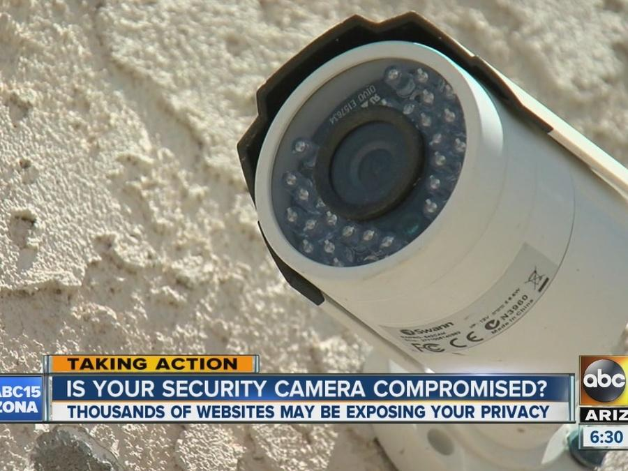 Is your security camera compromised?