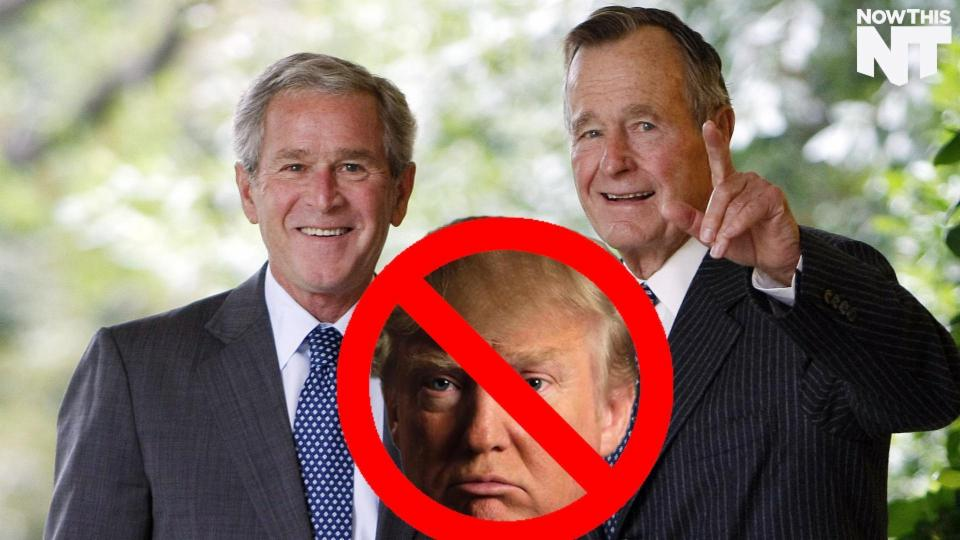 Neither George Bush Will Endorse Donald Trump
