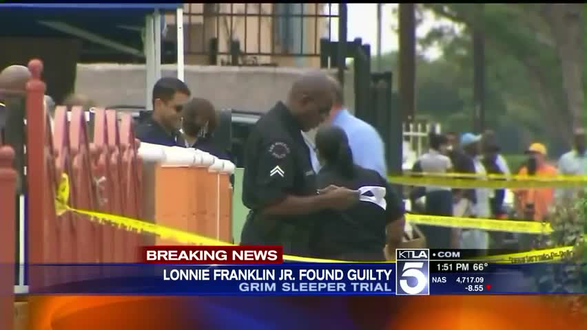 Jury Finds Lonnie Franklin Jr. Guilty In 'Grim Sleeper' Serial Murders