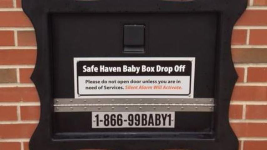 Indiana Installs Its First 'Safe Haven Baby Box' For Leaving Unwanted Infants