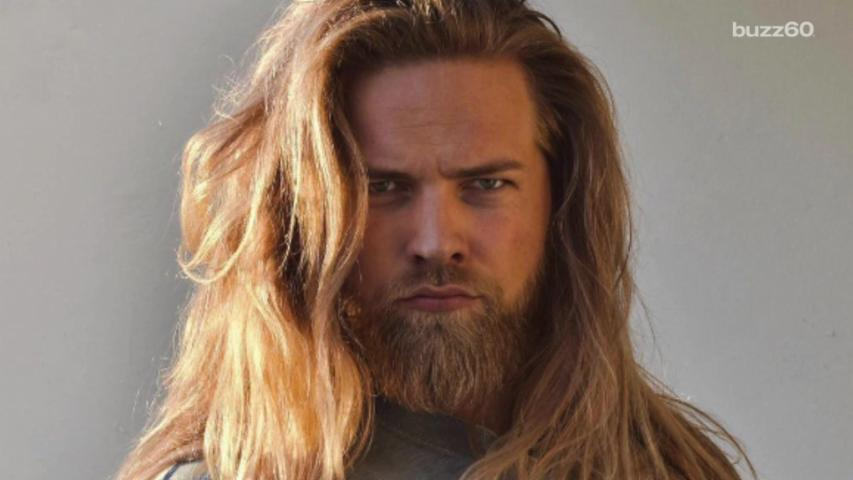 Real Life Thor! Modern Day Viking Goes Viral