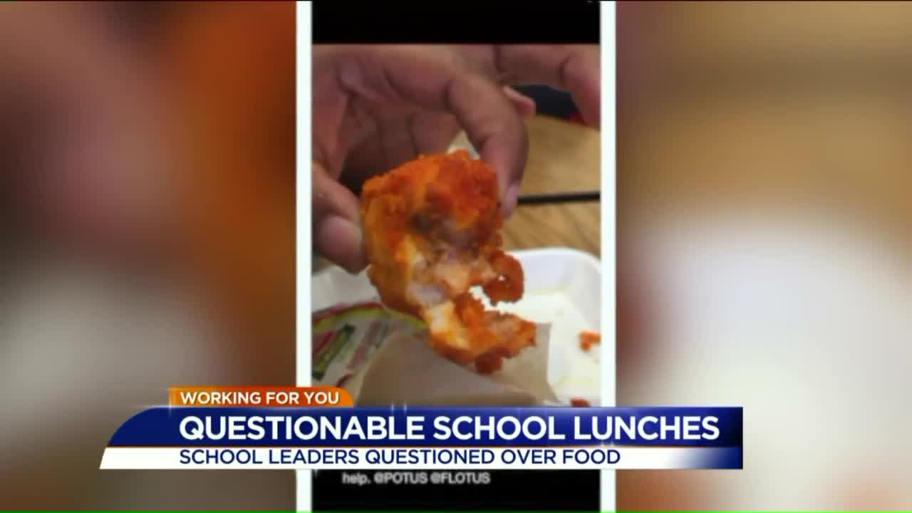 Students Disgusted By Lunches Being Served To Them At High School