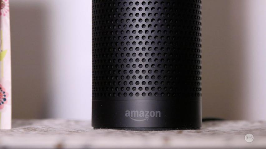 Chatting with the Amazon Echo's Alexa
