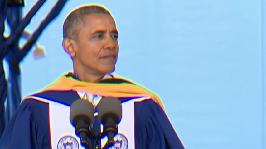 Pres. Obama's advice to Howard grads