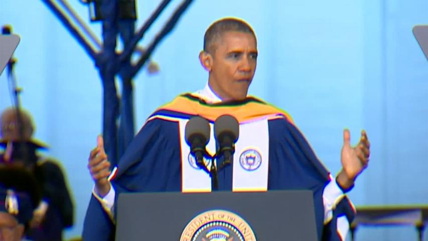 "Obama to Howard University grads: ""Yes we can"""