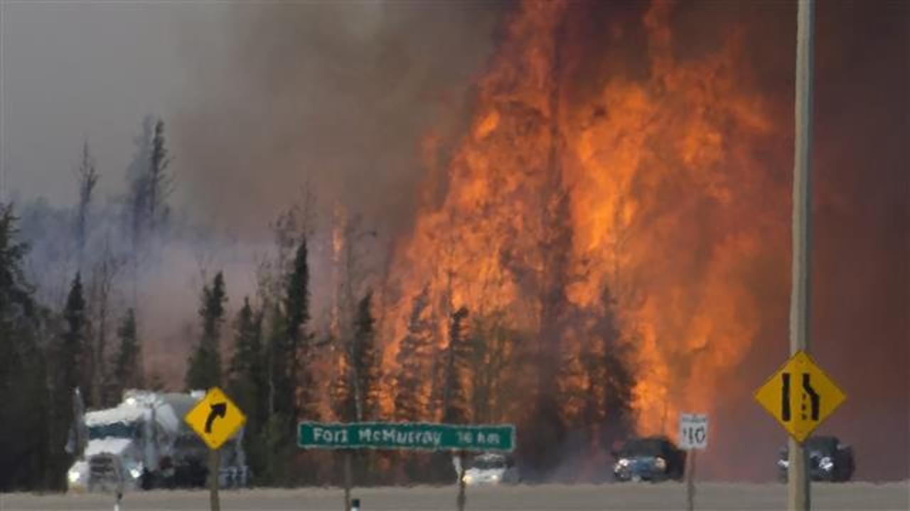 Wildfires Continue to Rage Across Canada