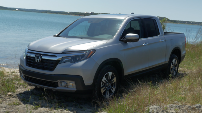2017 Honda Ridgeline | Beauty-Roll