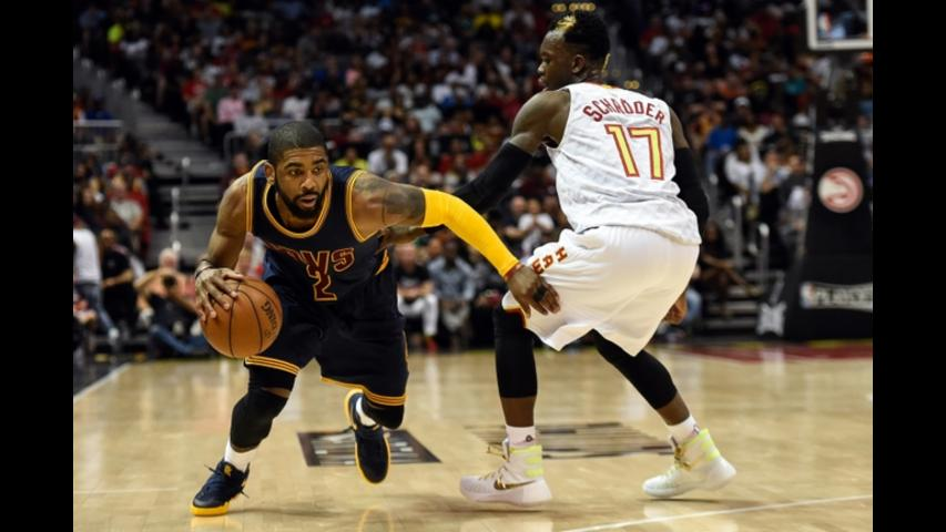 Love Delivers as Cavs Sweep Hawks