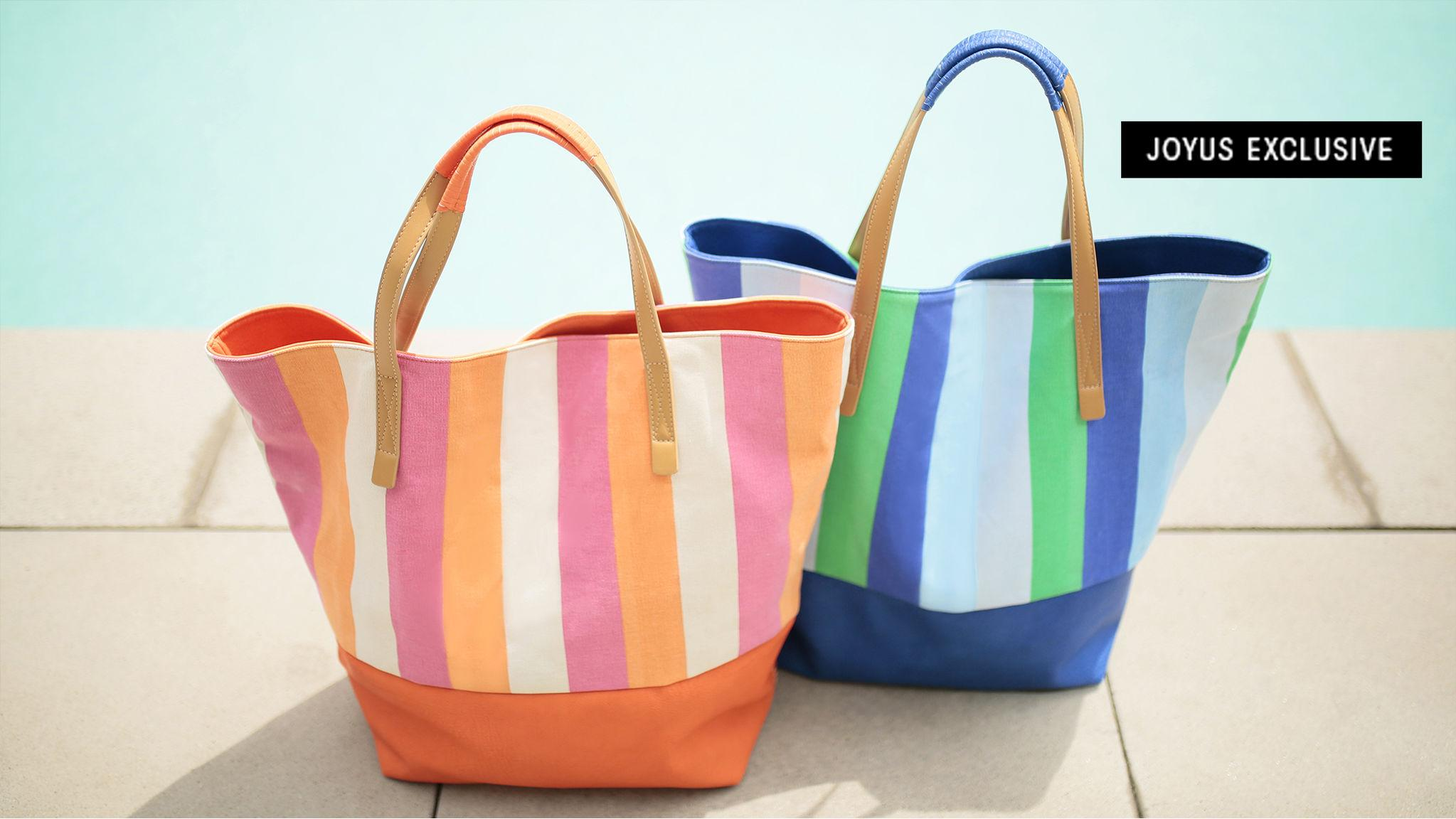 The Perfect Tote for Vacays and Staycays