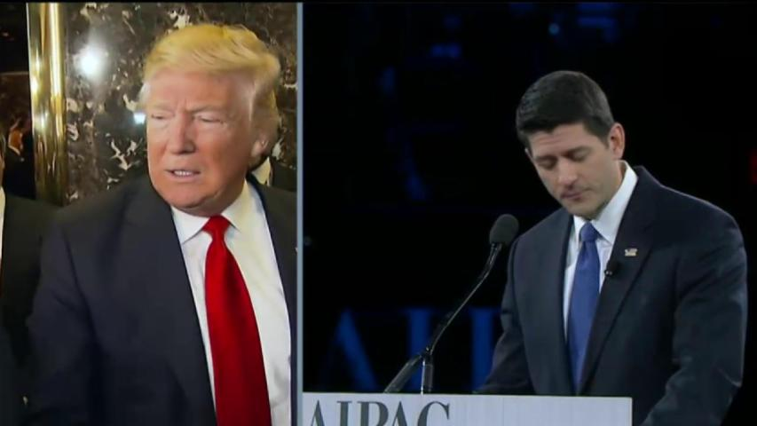 Will Trump and Ryan agree on a truce?