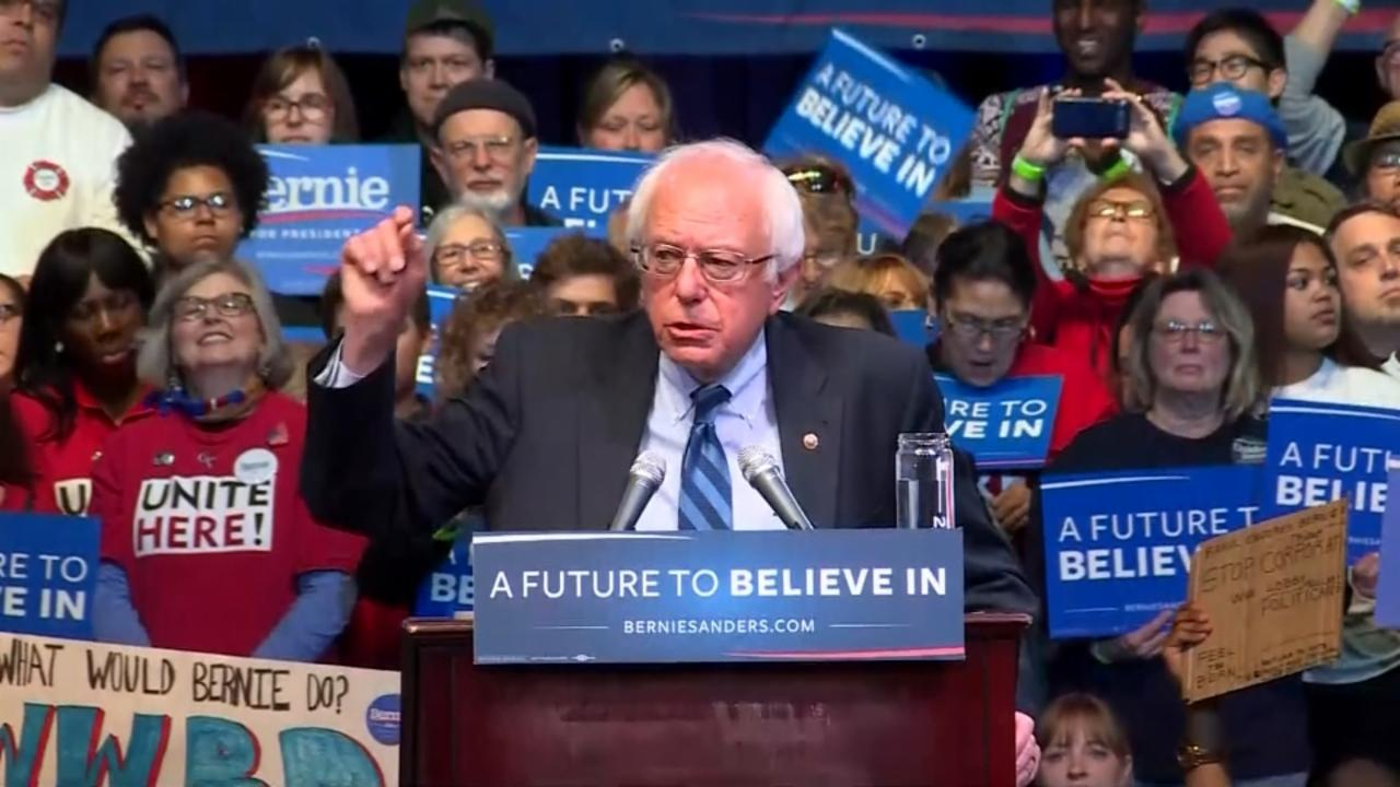 Sanders: This campaign is not over