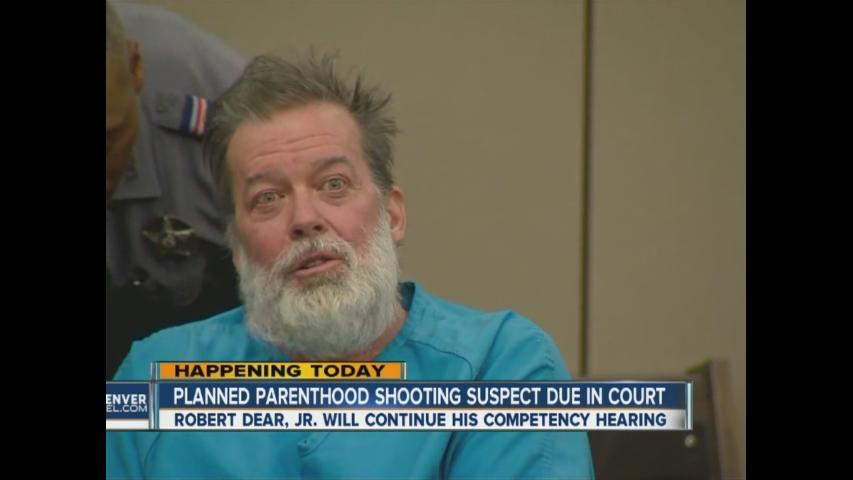 Competency hearing continues for Planned Parenthood shooting suspect
