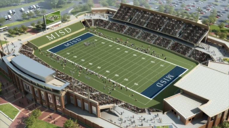 Texas high school to build $62.8 million football stadium