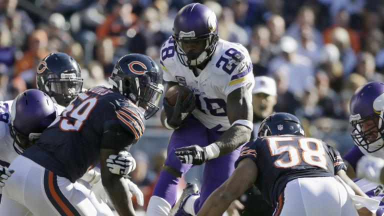 Will Adrian Peterson break the rushing record?