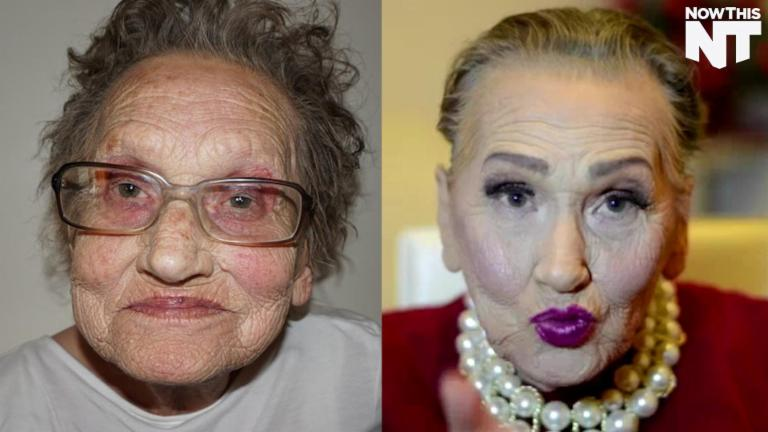 This 80-Year-Old Gives New Meaning To 'Contouring Goals'