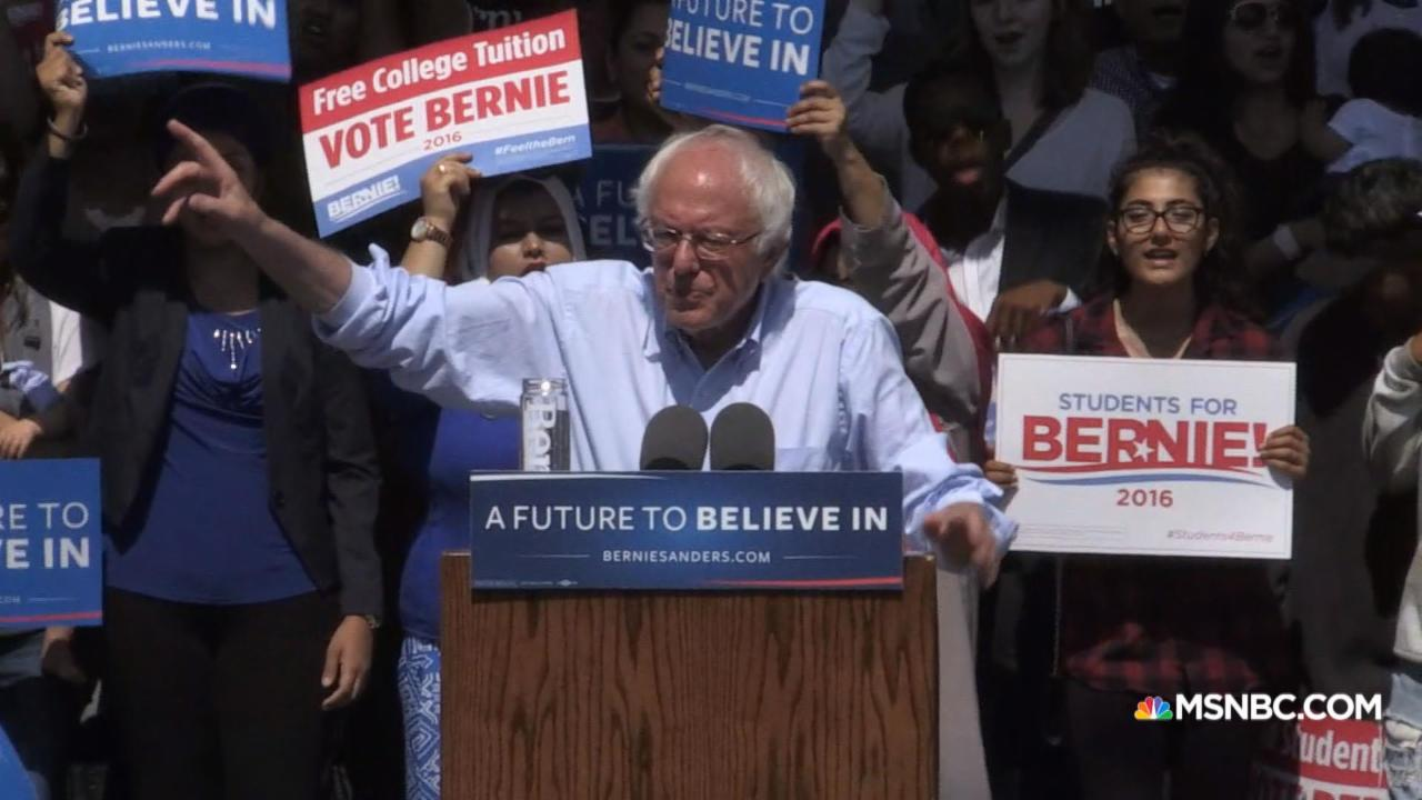 Sanders: I am the strongest candidate to beat Trump