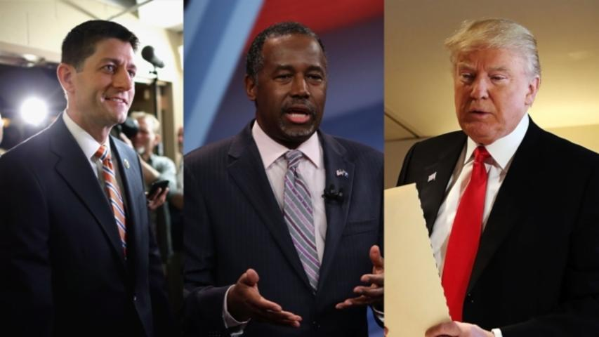 Ben Carson Will Play Ambassador Between Donald Trump and Paul Ryan