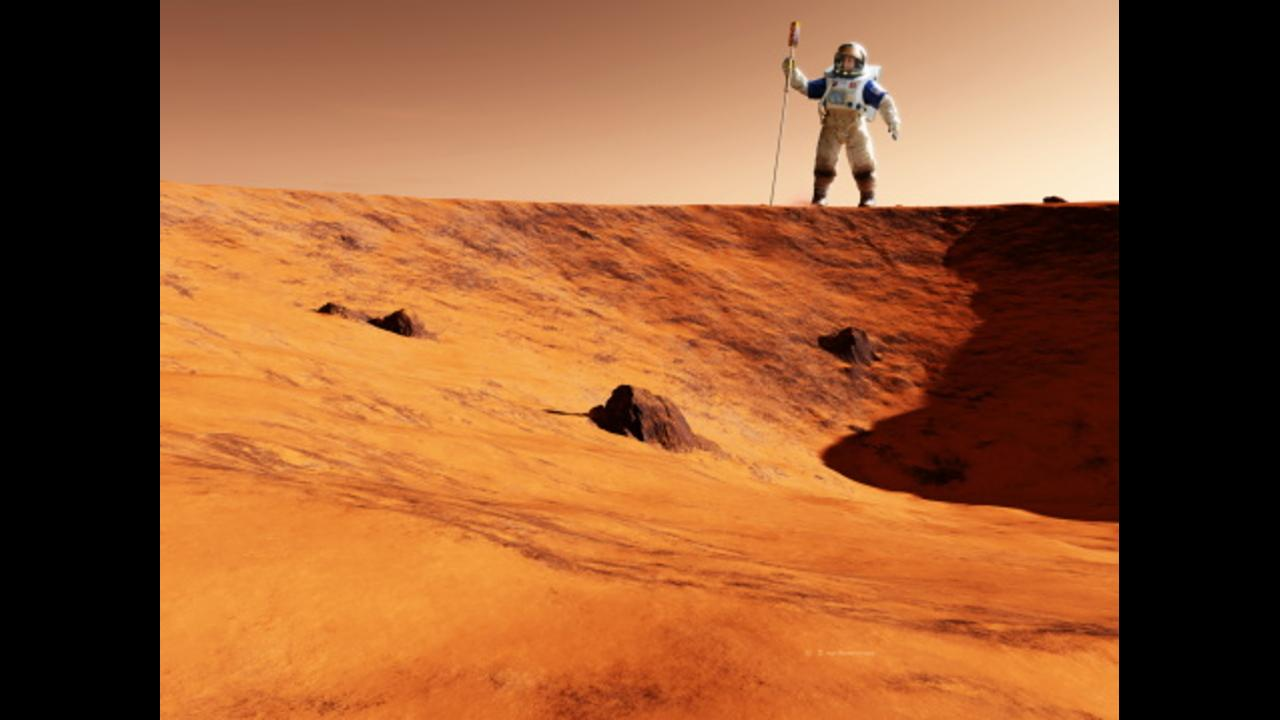 Scientists have detected oxygen on Mars