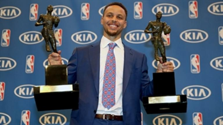 MVP Curry: 'I never really set out to change the game'