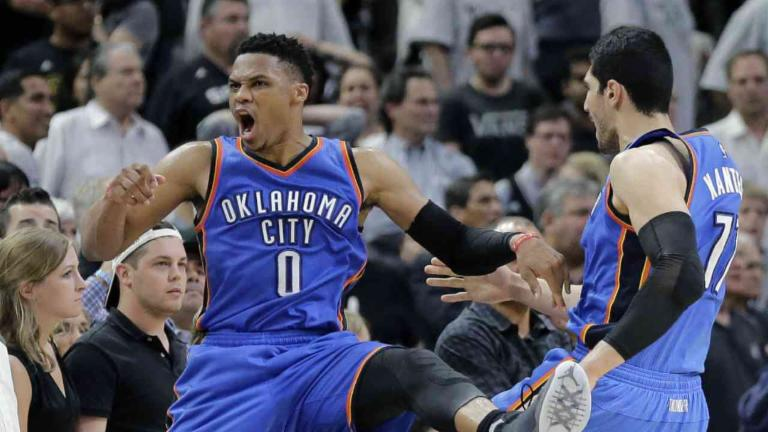 Thunder Out-Execute Spurs in Game 5 Win
