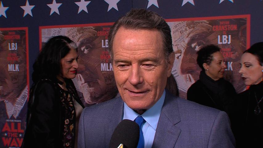 Bryan Cranston On Transforming Into Lyndon B. Johnson For 'All The Way'