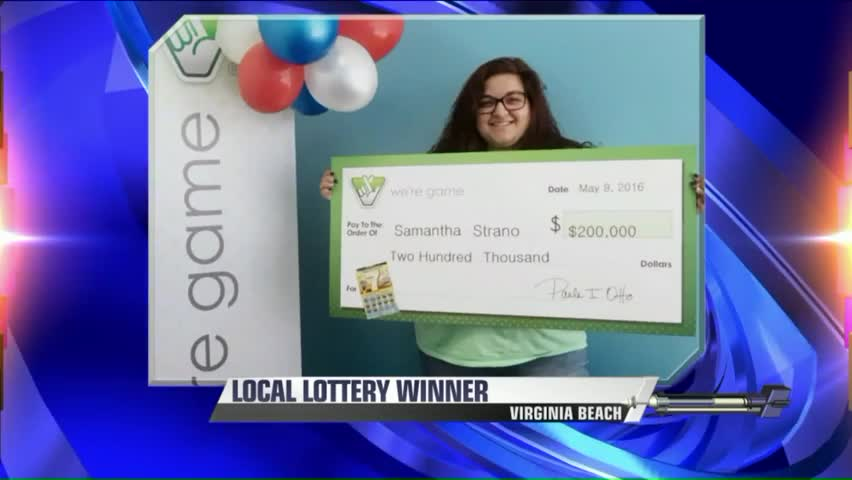 18-Year-Old Buys First Lottery Ticket, Wins $200k