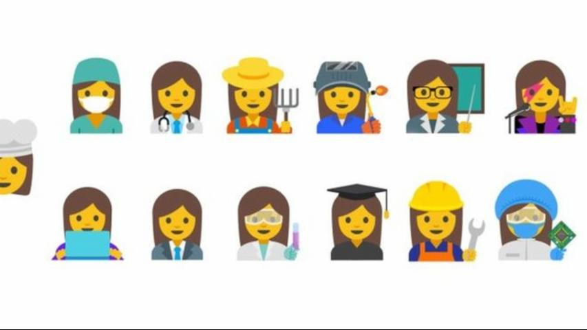 Google presents professional women Emoji to support gender equality