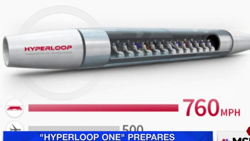 'Hyperloop One' prepares live test