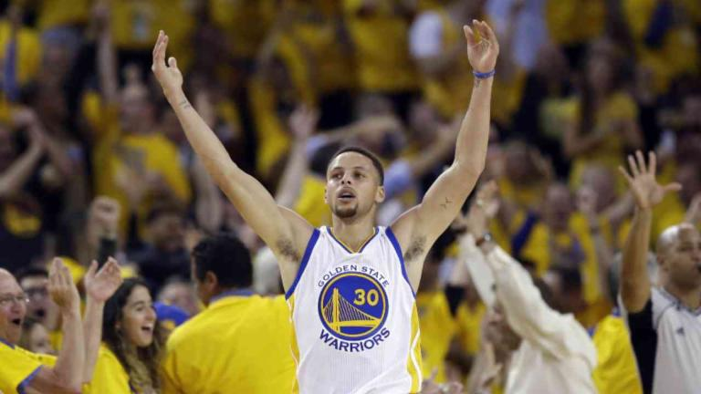 Warriors Advance to Conference Finals