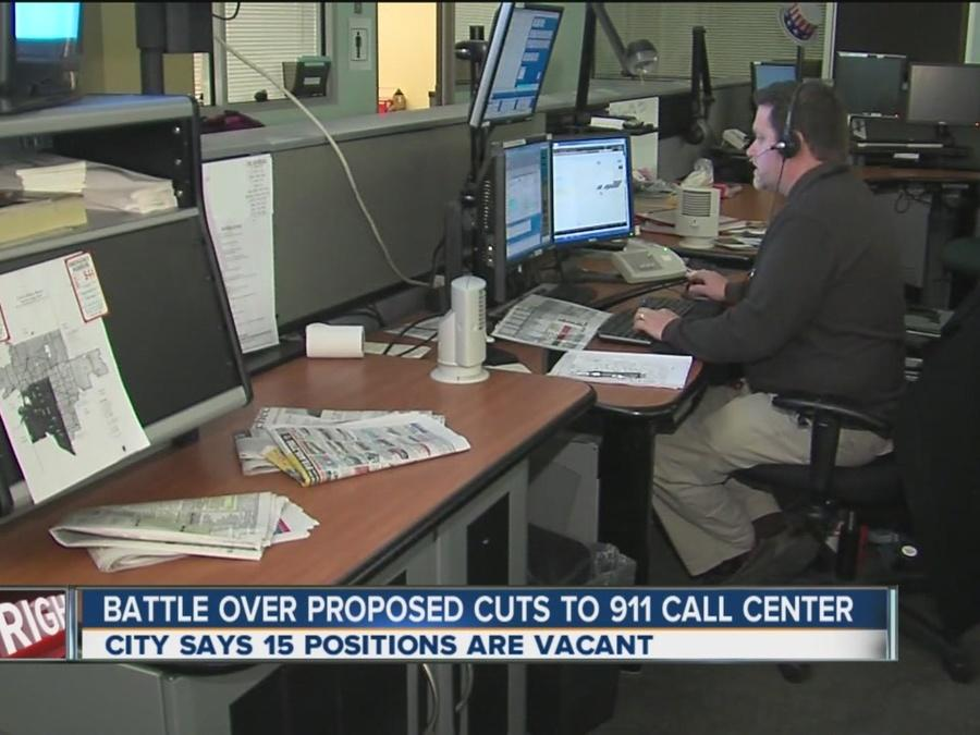 Battle Over Proposed 911 Call Center Cuts