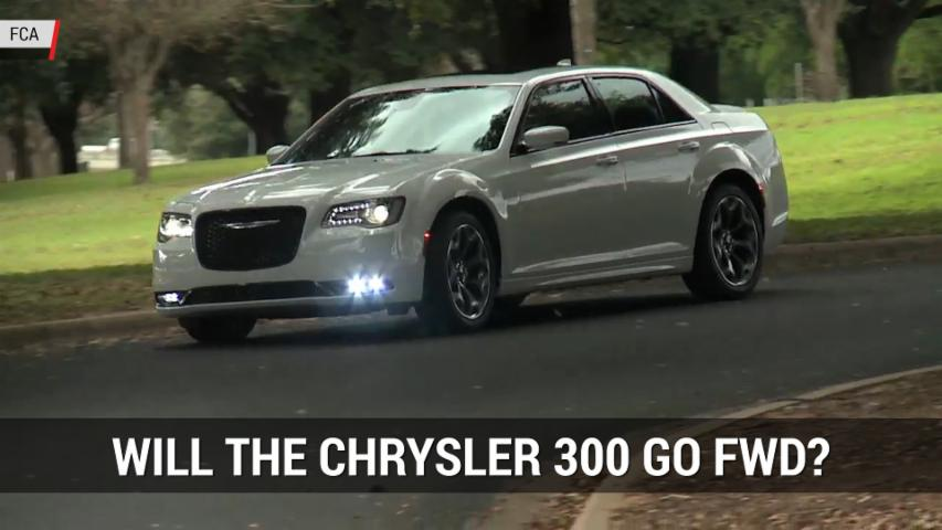 FCA Hints That The Chrysler 300 Could Go FWD | Autoblog Minute