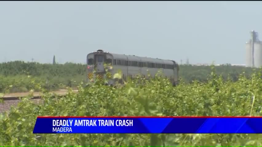 3 Killed After Amtrak Train Slams Into Pickup Truck In California