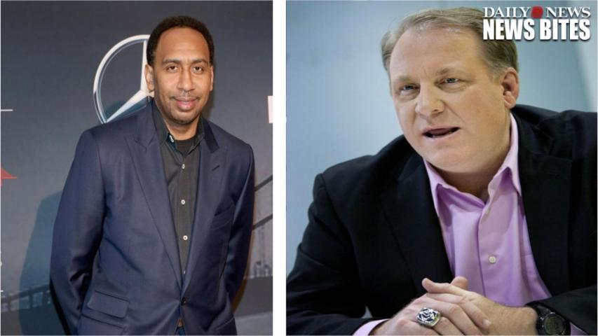 Stephen A  Smith Challenges Curt Schilling To A Debate