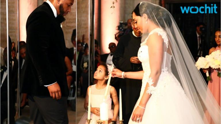 Devon Still's Daughter Leah Was Just the Cutest at His & Asha Joyce's Wedding