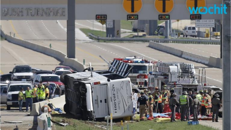 Rollover Bus Crash In Texas Kills Eight