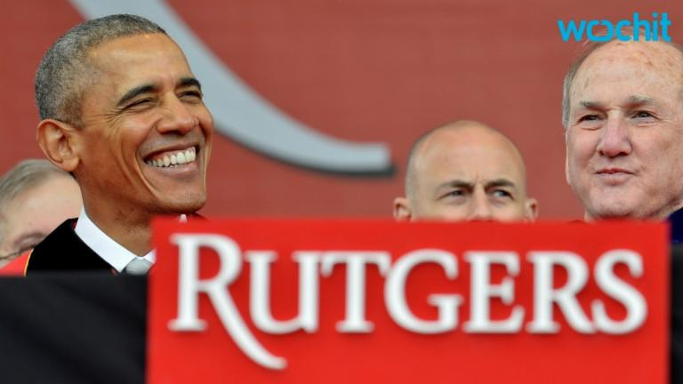 President Obama attacks ignorance in Rutgers commencement
