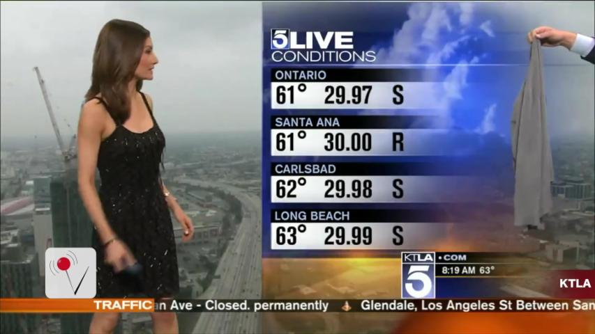 Meteorologist Humiliated On Live TV For Her 'Inappropriate' Dress