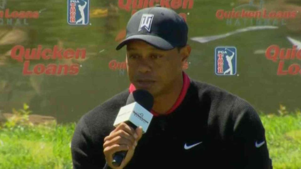 WATCH: Tiger Woods on Rehab, Return