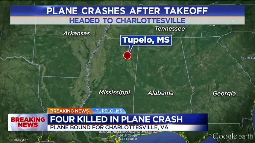 Four Killed In Mississippi After Plane Crashes