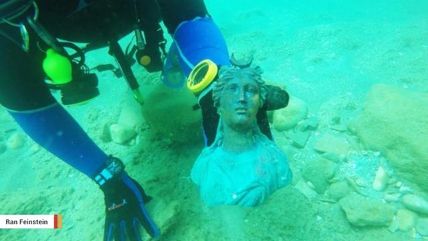 Israeli Divers Find 1,600-Year-Old Roman Treasure