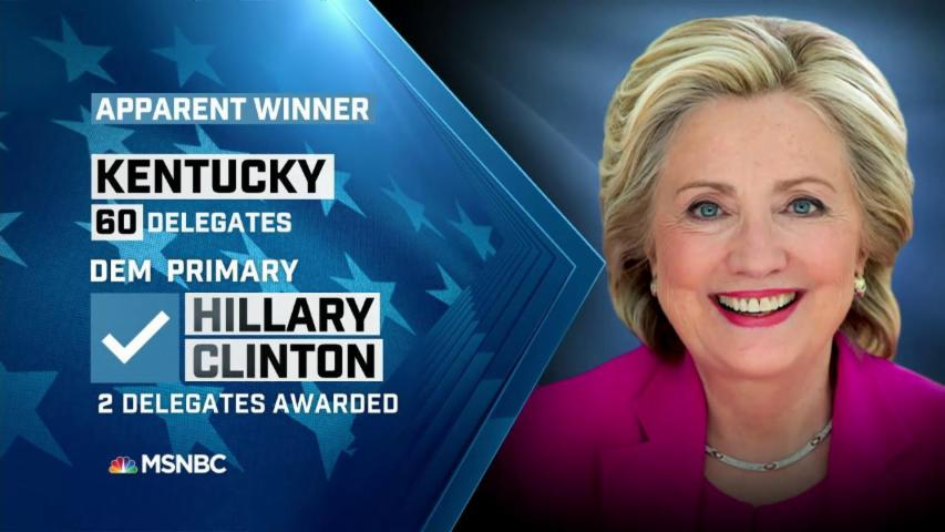 NBC: Clinton apparent winner in KY primary