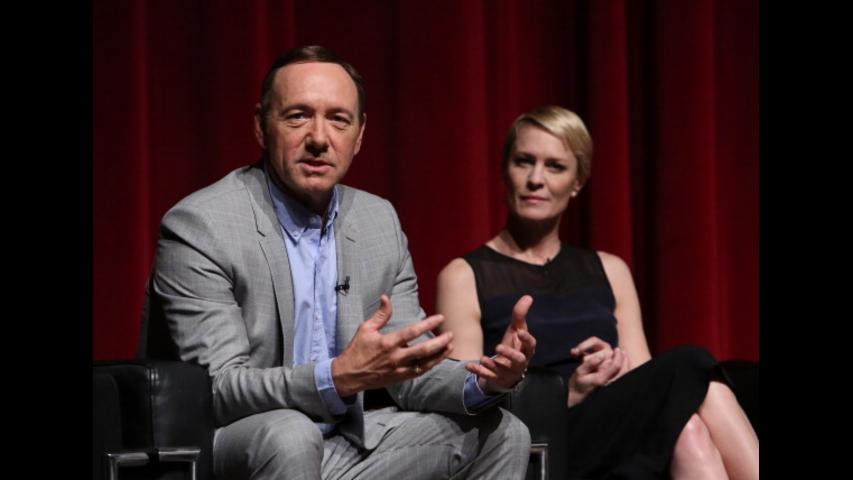 Robin Wright demanded for same pay as co-star Kevin Spacey and won