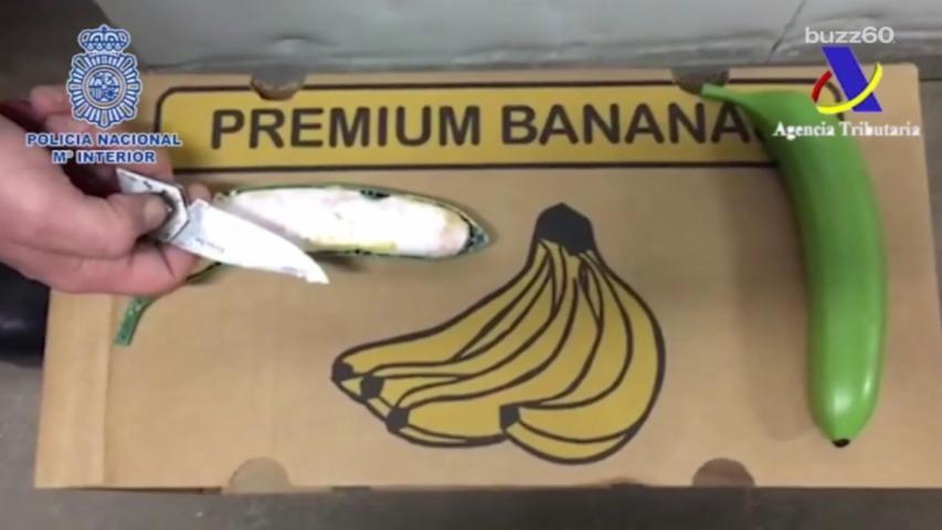300 Pounds of Cocaine Found in Bananas