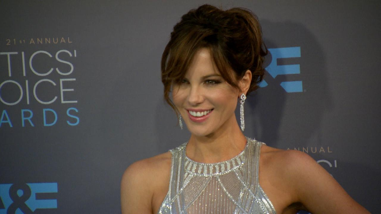 Kate Beckinsale Recreates Hilarious Birth Photo
