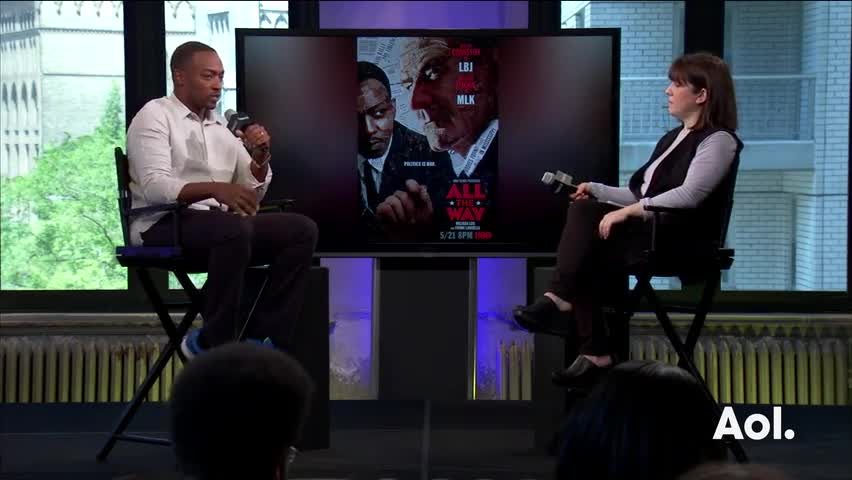 "Anthony Mackie On ""All The Way"""