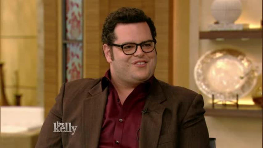 """LIVE with Kelly"": Josh Gad's Training"