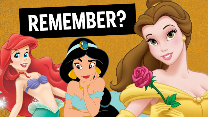 9 Favorite Disney Princesses from Childhood (Throwback)