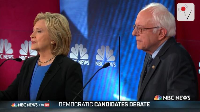 New Poll: Both Clinton and Sanders Over Trump