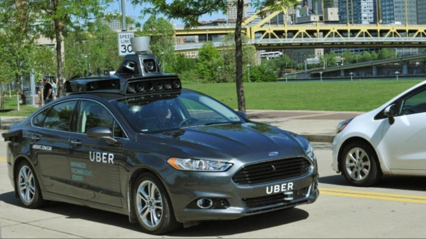 Uber Unleashes Its Self-Driving Car on Pittsburgh