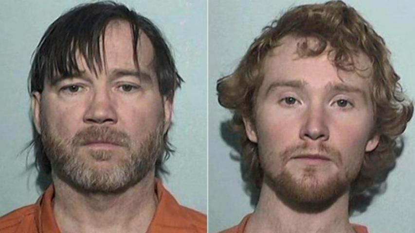 Father and Son Arrested After Girl Says She Was Chained Up for a Year